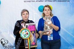 на выставке в Казахстане